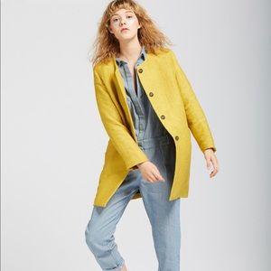 Anthropologie The Korner Yellow Jacket